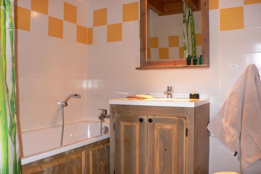Location au ski Residence Chalet Le Clos D'aussois - Aussois - Salle de bains