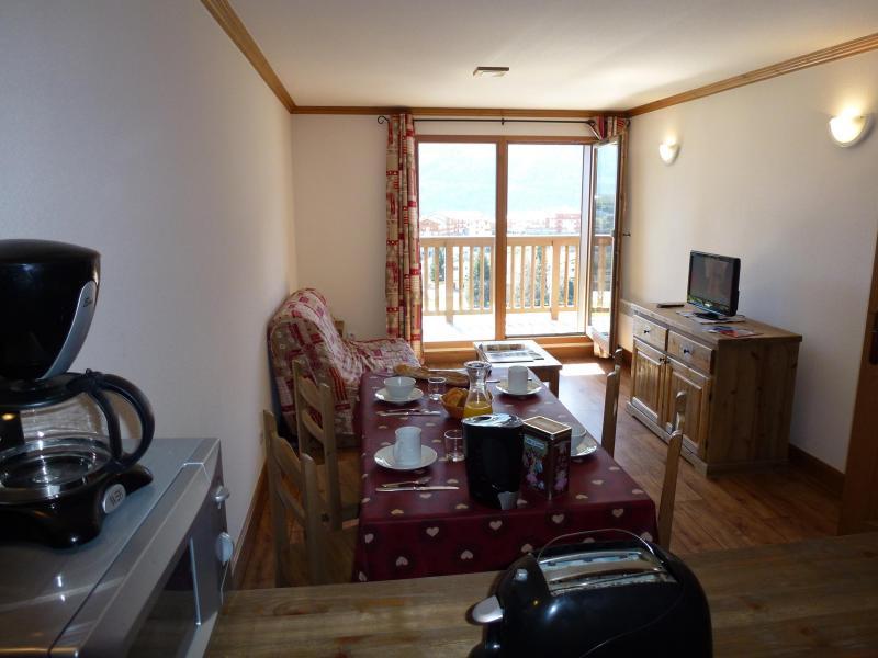 Location au ski Residence Chalet Le Clos D'aussois - Aussois - Séjour