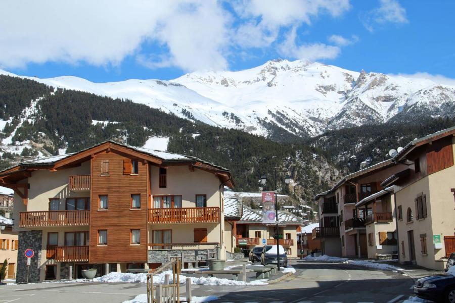 Vacances en montagne Appartement 2 pièces 4 personnes (206) - Résidence la Combe - Aussois - Extérieur hiver
