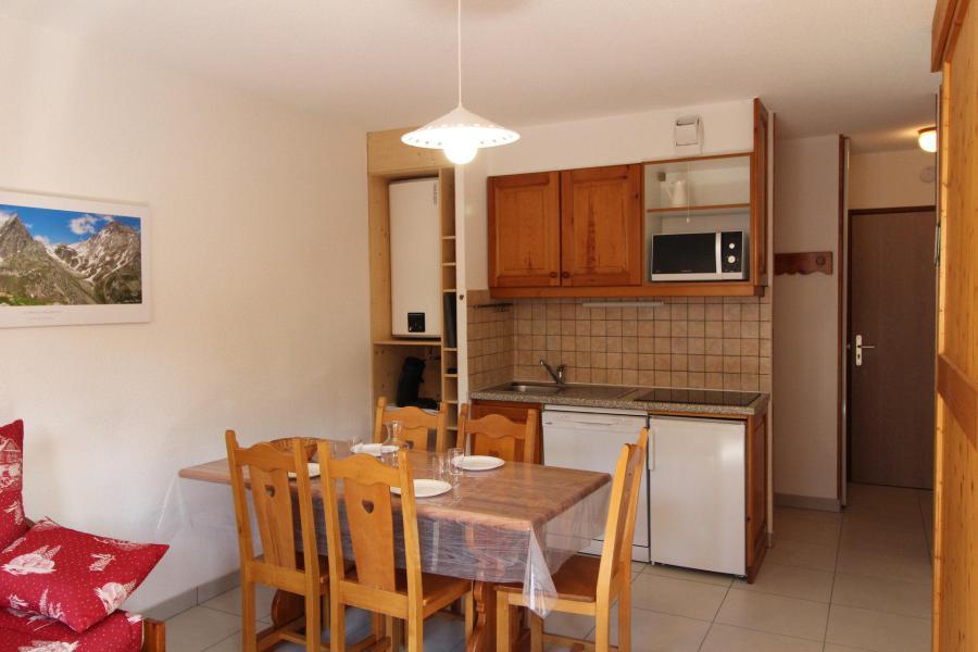 Location au ski Appartement 2 pièces coin montagne 5 personnes - Résidence la Combe II - Aussois - Cuisine