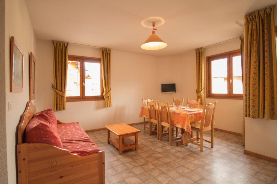 Location au ski Appartement 3 pièces 6 personnes (330) - Résidence la Combe II - Aussois - Séjour