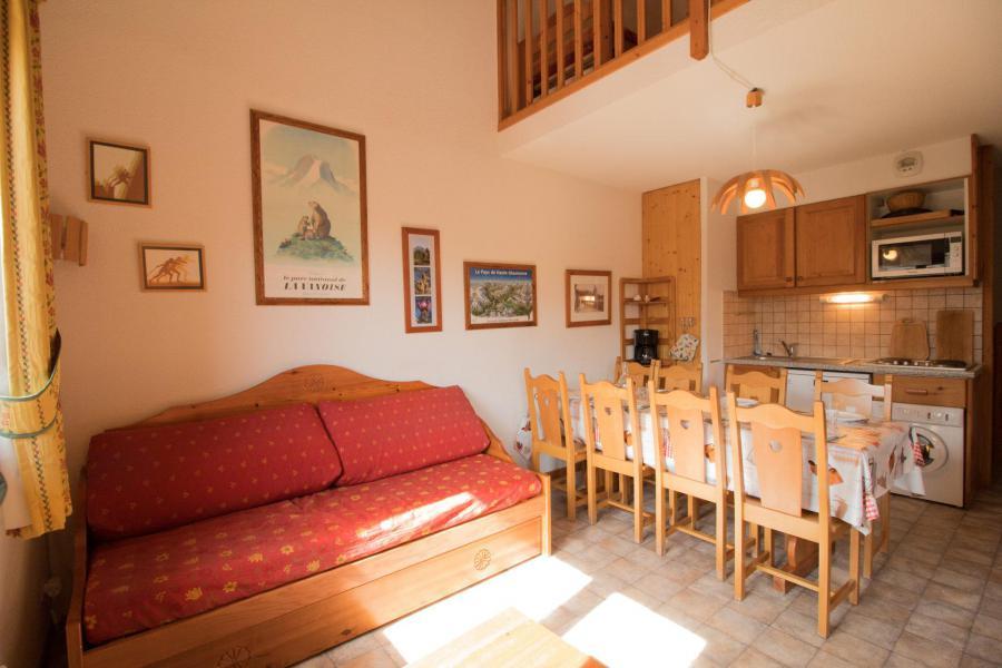 Location au ski Appartement duplex 4 pièces 8 personnes (333) - Résidence la Combe II - Aussois - Séjour