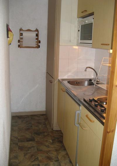 Аренда на лыжном курорте Апартаменты 2 комнат 4 чел. (1) - Résidence La Corniche - Aussois - Небольш&