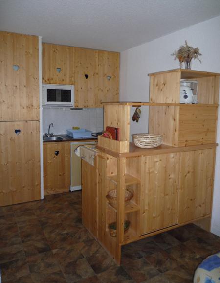 Аренда на лыжном курорте Апартаменты 2 комнат 4 чел. (102) - Résidence La Corniche - Aussois - Небольш&