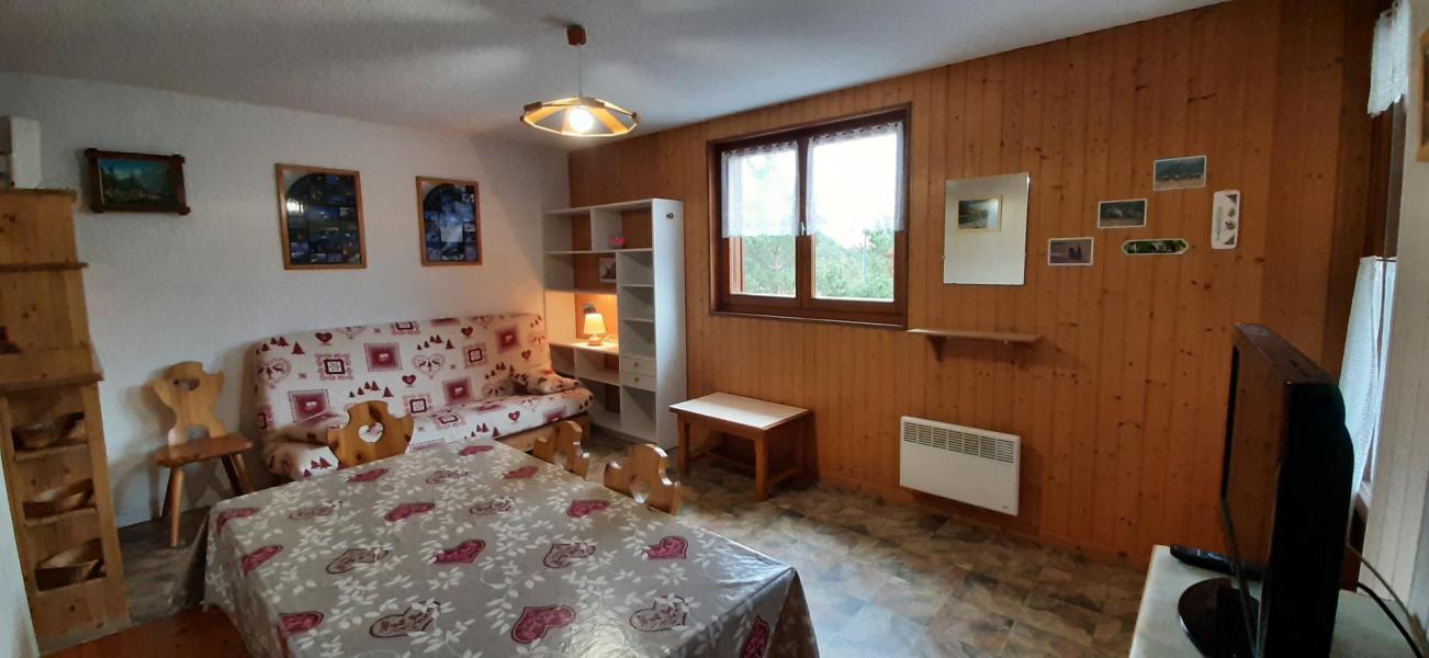 Аренда на лыжном курорте Апартаменты 2 комнат 4 чел. (102) - Résidence La Corniche - Aussois - Салон