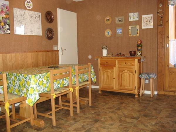 Аренда на лыжном курорте Апартаменты 2 комнат 4 чел. (113) - Résidence La Corniche - Aussois - Стол