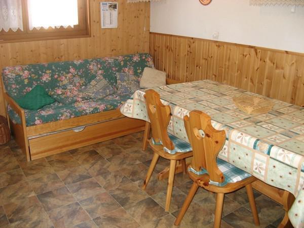 Skiverleih 2-Zimmer-Appartment für 4 Personen (114) - Résidence La Corniche - Aussois - Wohnzimmer