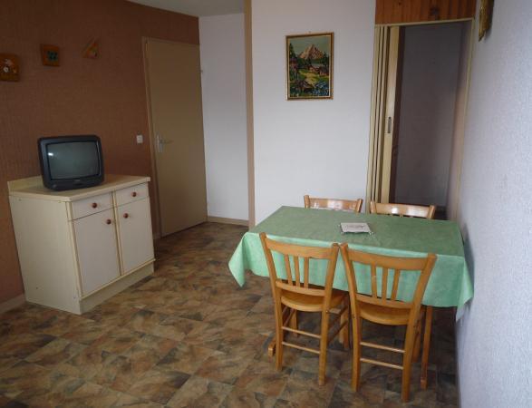 Skiverleih 2-Zimmer-Appartment für 4 Personen (2) - Résidence La Corniche - Aussois - Tisch