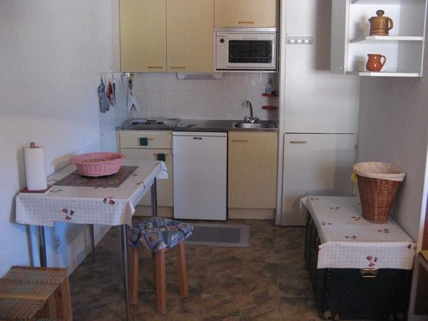 Skiverleih 2-Zimmer-Berghütte für 4 Personen (113) - Résidence La Corniche - Aussois - Kochnische