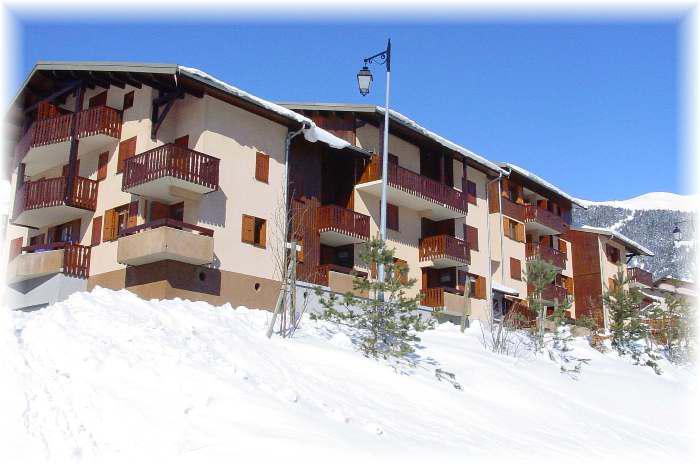 Skiverleih 2-Zimmer-Appartment für 4 Personen (2) - Résidence La Corniche - Aussois