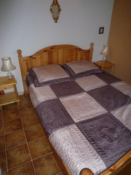 Skiverleih 2-Zimmer-Appartment für 4 Personen (203) - Résidence Le Genevray - Aussois - Schlafzimmer