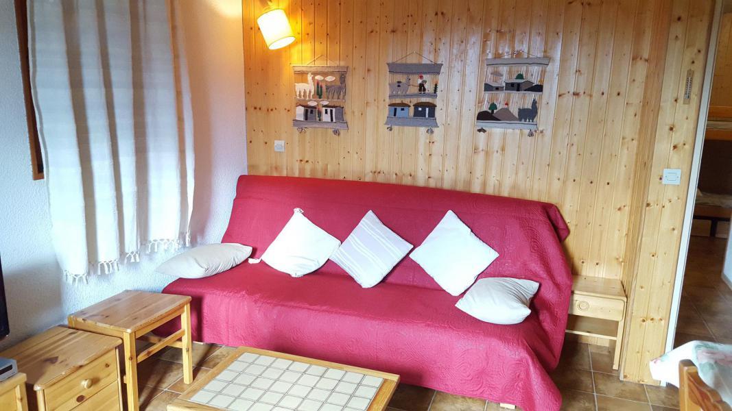 Skiverleih 2-Zimmer-Holzhütte für 6 Personen (115) - Résidence Le Genevray - Aussois - Appartement
