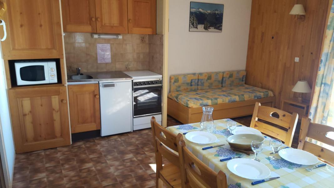 Skiverleih 2-Zimmer-Appartment für 4 Personen (127) - Résidence Les Fleurs - Aussois - Kochnische