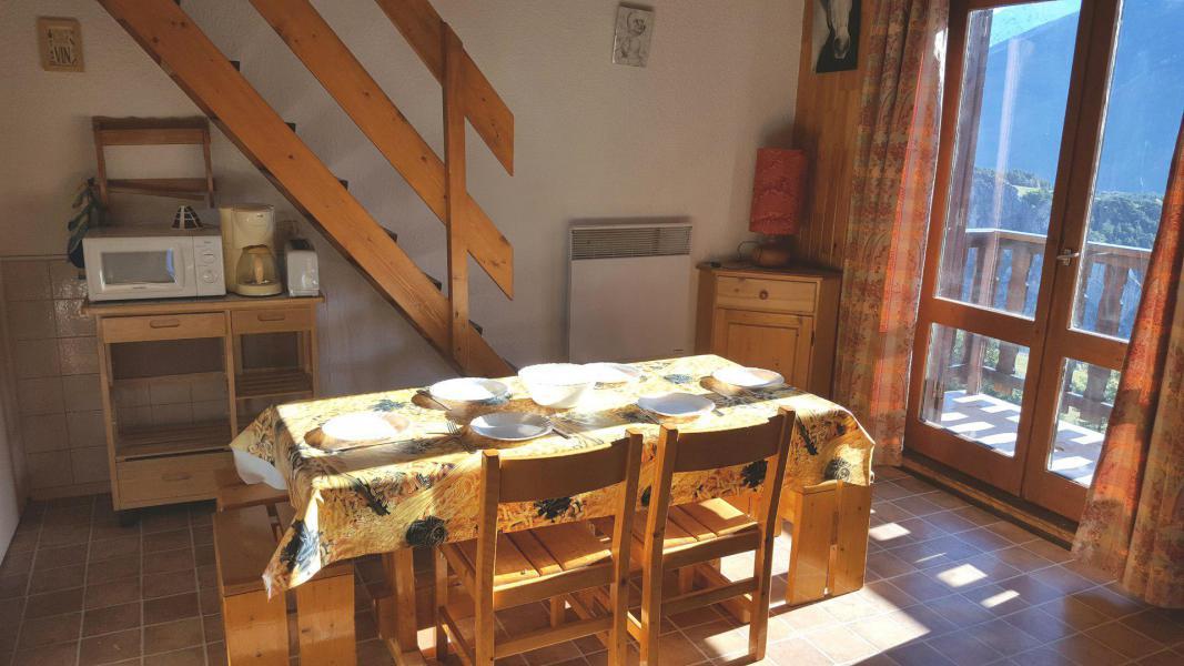 Skiverleih Duplex Wohnung 2 Zimmer Kabine 6 Personnen (65) - Résidence Les Fleurs - Aussois