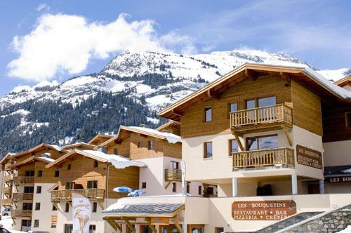 Vacances en montagne Residence Les Flocons D'argent - Aussois - Extérieur hiver