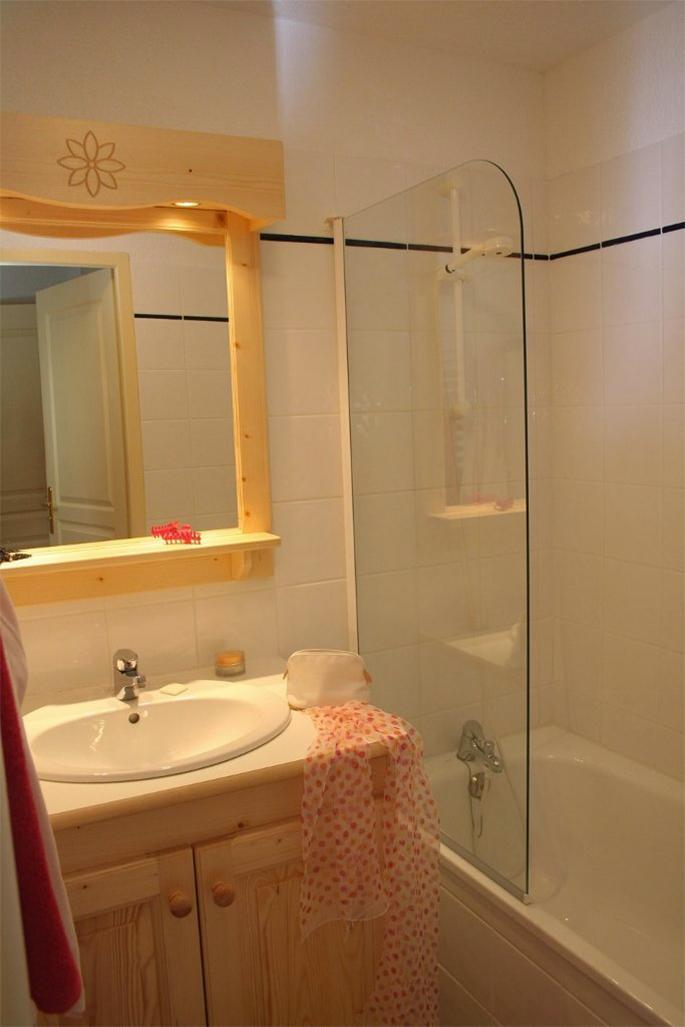 Skiverleih Résidence les Flocons d'Argent - Aussois - Badezimmer