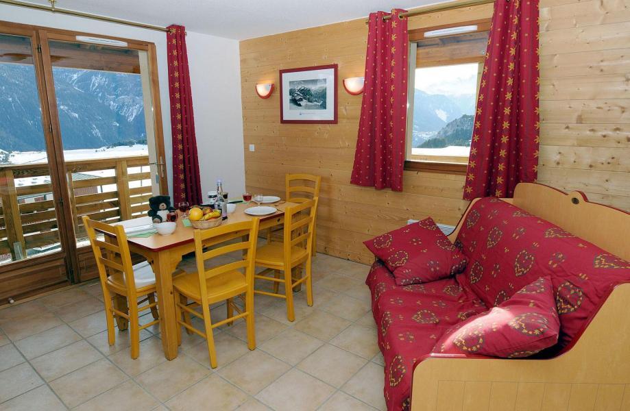 Location au ski Residence Les Flocons D'argent - Aussois - Coin repas