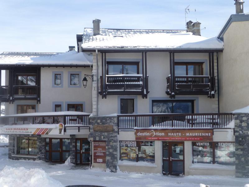 Vacanze in montagna Résidence les Sports - Aussois - Esteriore inverno
