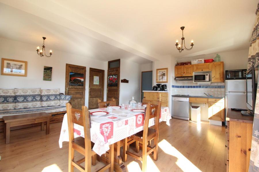 Location au ski Appartement 2 pièces 4 personnes (005) - Résidence les Sports - Aussois - Séjour