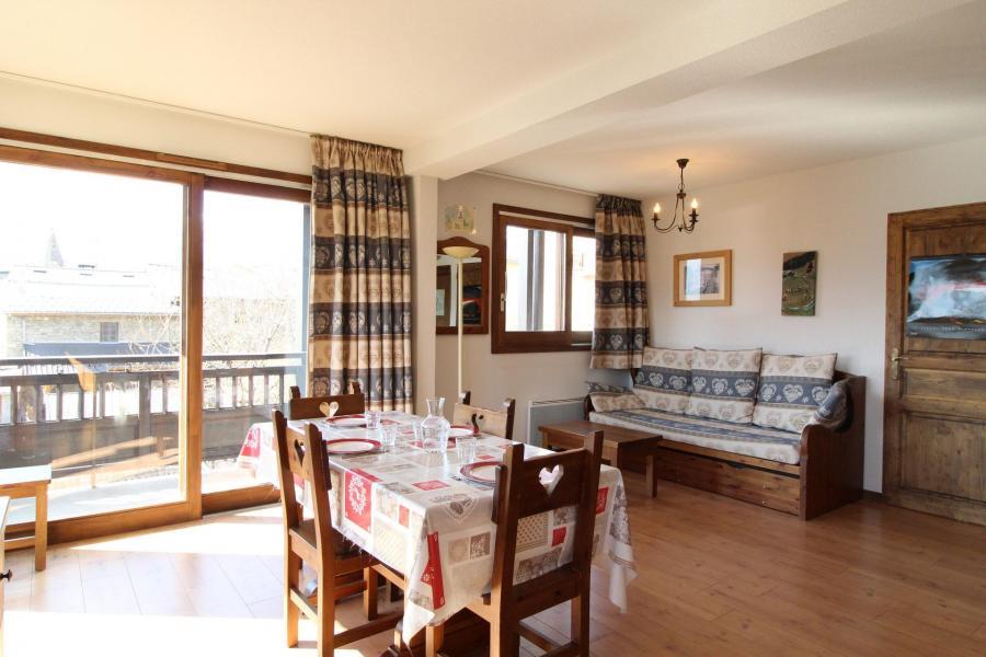 Location au ski Appartement 2 pièces 4 personnes (005) - Résidence les Sports - Aussois - Table