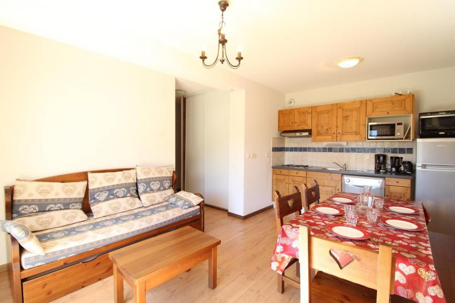 Location au ski Appartement 2 pièces coin montagne 6 personnes (004) - Résidence les Sports - Aussois - Cuisine