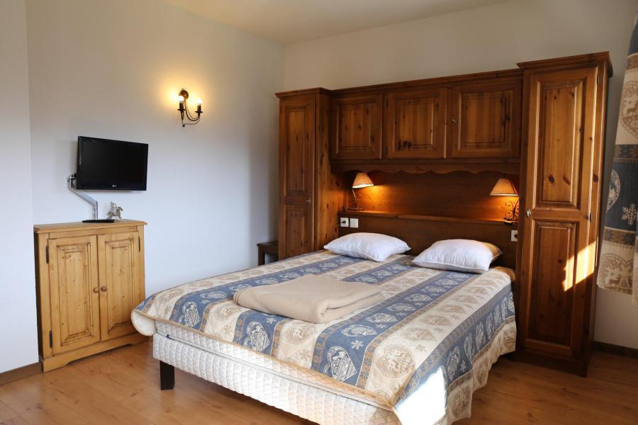 Location au ski Appartement 2 pièces coin montagne 6 personnes (006) - Résidence les Sports - Aussois - Chambre