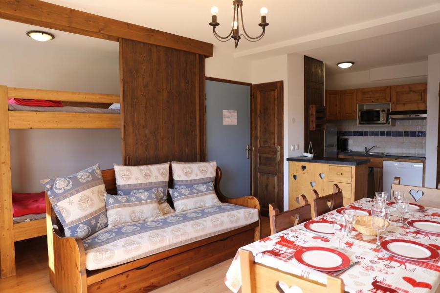 Location au ski Appartement 2 pièces coin montagne 6 personnes (006) - Résidence les Sports - Aussois - Séjour