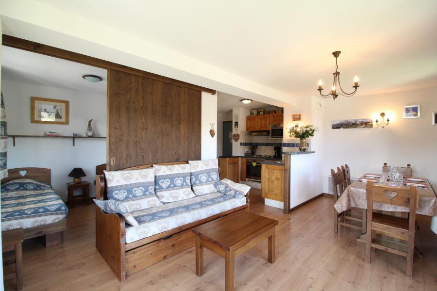 Location au ski Appartement 3 pièces 6 personnes (010) - Résidence les Sports - Aussois - Séjour