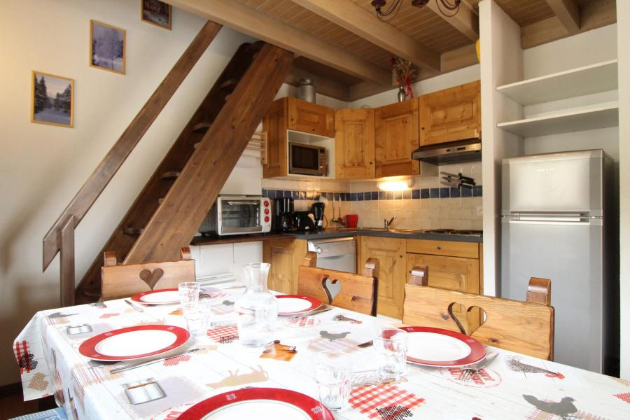 Location au ski Appartement 3 pièces 6 personnes (012) - Résidence les Sports - Aussois - Cuisine