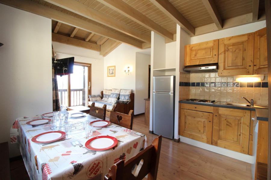Location au ski Appartement 3 pièces 6 personnes (013) - Résidence les Sports - Aussois - Séjour