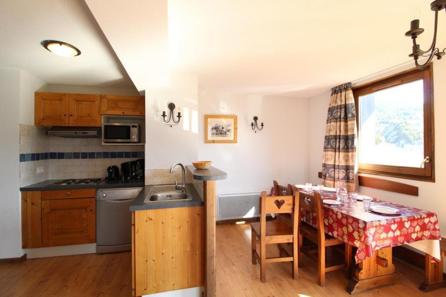 Location au ski Appartement 3 pièces 6 personnes (014) - Résidence les Sports - Aussois - Cuisine