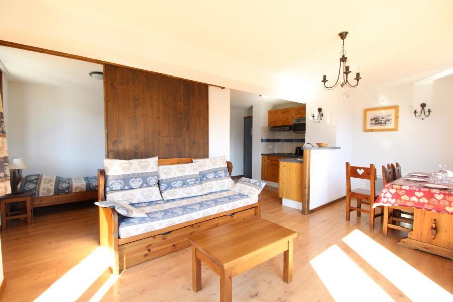 Location au ski Appartement 3 pièces 6 personnes (014) - Résidence les Sports - Aussois - Séjour