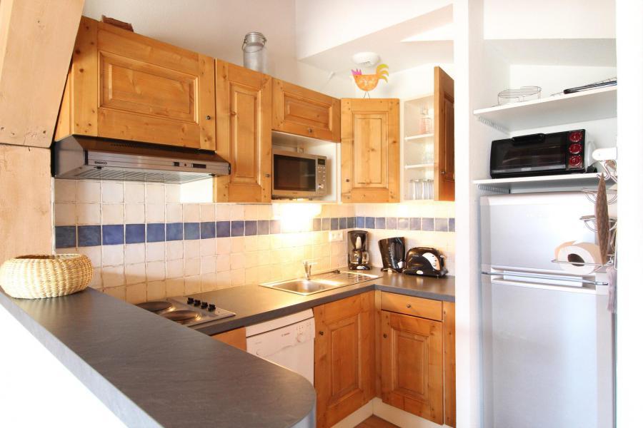 Location au ski Appartement 3 pièces 6 personnes (017) - Résidence les Sports - Aussois - Cuisine