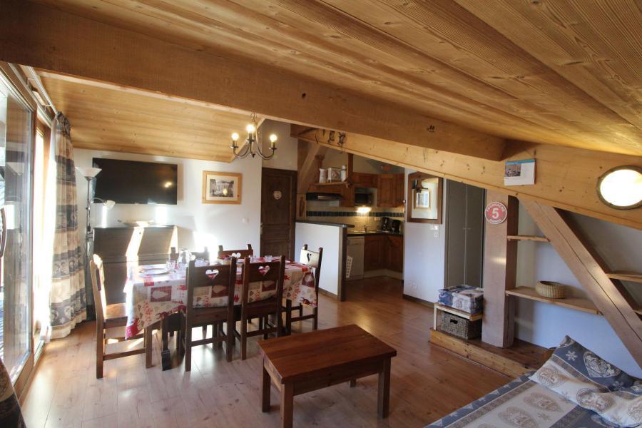 Location au ski Appartement 3 pièces 6 personnes (017) - Résidence les Sports - Aussois - Séjour