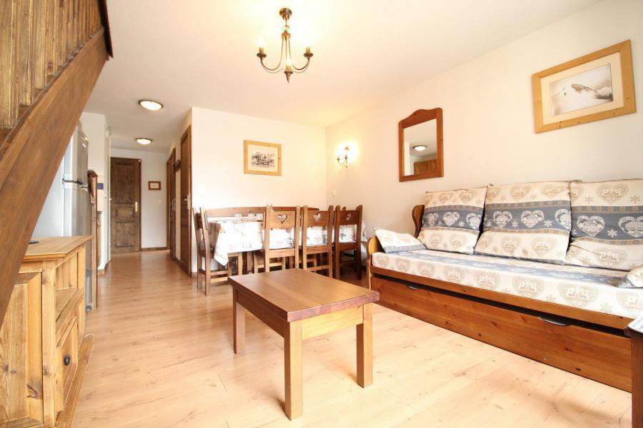 Location au ski Appartement duplex 4 pièces 8 personnes (015) - Résidence les Sports - Aussois - Séjour