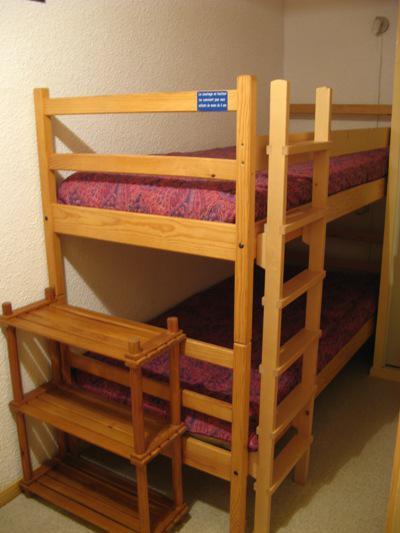 Аренда на лыжном курорте Квартира студия со спальней для 4 чел. (STS13) - Résidence St Sébastien 1 - Aussois - Двухъярусные кровати