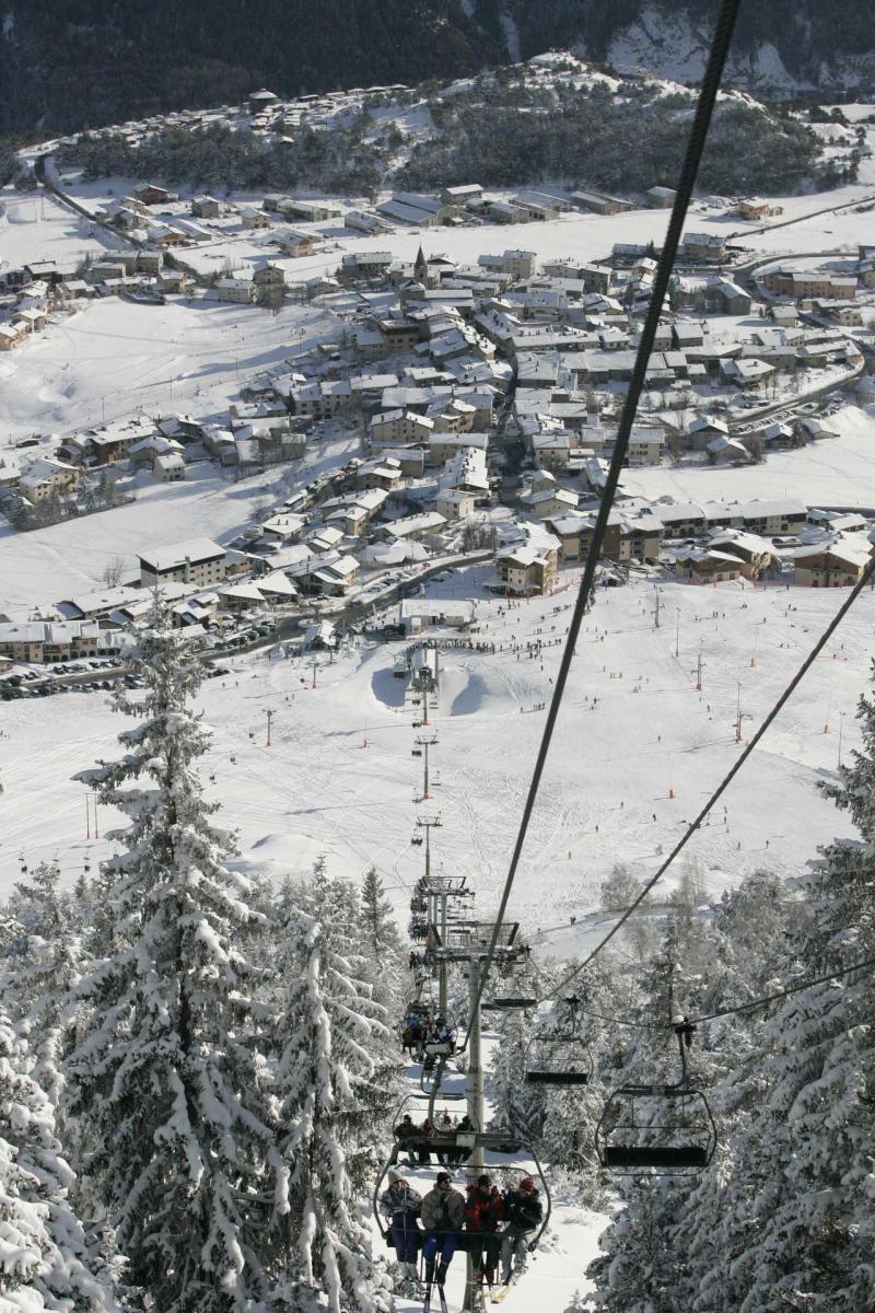 Skiverleih Résidences village d'Aussois - Aussois - Draußen im Winter