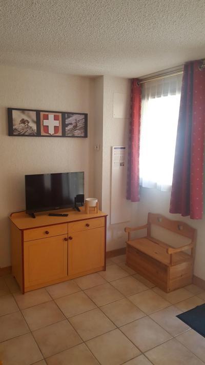 Rent in ski resort 2 room apartment 4 people (G0.150) - La Résidence les Flocons d'Argent - Aussois - Living room