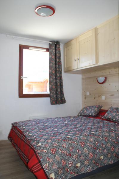 Rent in ski resort 2 room apartment cabin 4-6 people (B2.30) - La Résidence les Flocons d'Argent - Aussois - Double bed