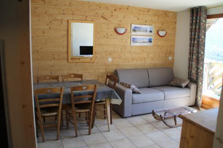 Rent in ski resort 2 room apartment cabin 4-6 people (B2.30) - La Résidence les Flocons d'Argent - Aussois - Living room