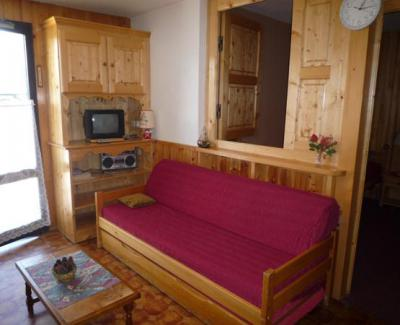 Rent in ski resort 2 room apartment 4 people (611) - La Résidence les Sétives - Aussois - Living room