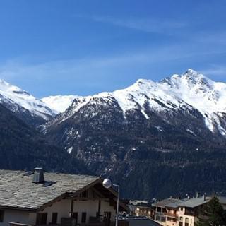 Rent in ski resort La Résidence les Sétives - Aussois - Balcony