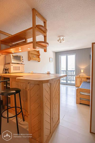 Rent in ski resort Studio 2 people (65) - La Résidence les Sétives - Aussois - Kitchenette