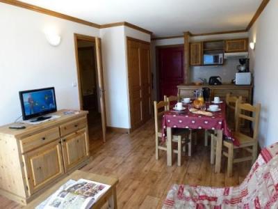 Location au ski Appartement 2 pièces cabine 6 personnes - Residence Chalet Le Clos D'aussois - Aussois - Tv