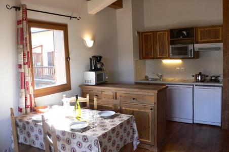 Location au ski Appartement 3 pièces 6 personnes - Residence Chalet Le Clos D'aussois - Aussois - Kitchenette