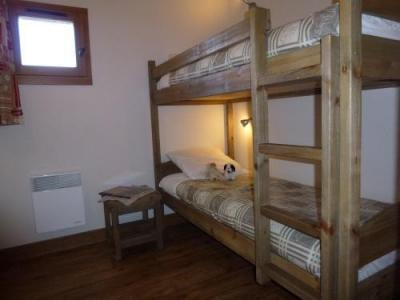 Location au ski Appartement 3 pièces 6 personnes - Residence Chalet Le Clos D'aussois - Aussois - Lits superposés