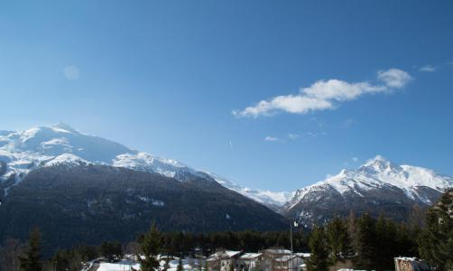 Location au ski Appartement 3 pièces 6 personnes (202) - Résidence la Combe - Aussois - Extérieur hiver
