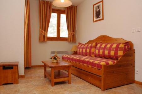 Location au ski Appartement 2 pièces 4 personnes (437) - Residence La Combe Iii - Aussois - Canapé