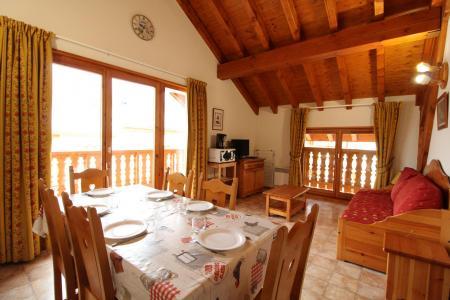 Location au ski Appartement 3 pièces 6 personnes (517) - Résidence la Combe IV - Aussois - Séjour