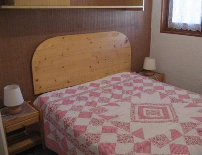 Rent in ski resort 2 room apartment 4 people (114) - Résidence La Corniche - Aussois - Double bed